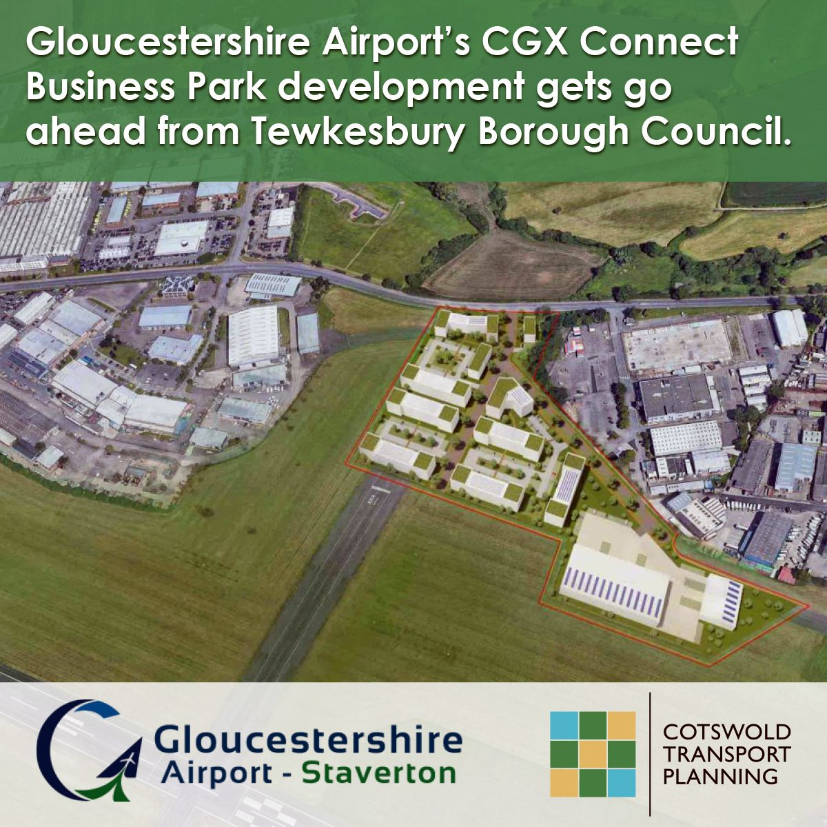 Gloucester Airport overview